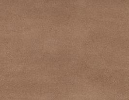 Coupon de cuir de vachette nubuck marron clair