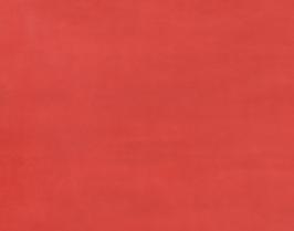 Morceau de cuir de veau nubuck rouge