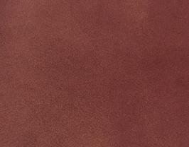 Coupon de cuir d'agneau velours bordeaux doré métallisé