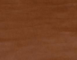 Morceau de cuir de vachette grainé cognac