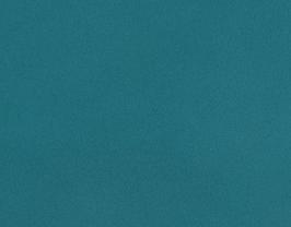 Coupon de cuir d'agneau nappa turquoise