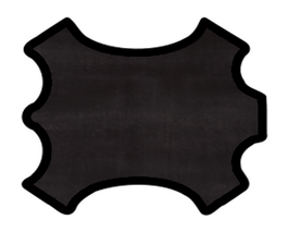 Peau de veau noir