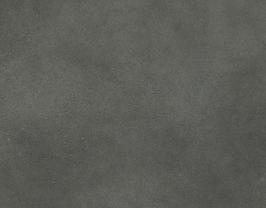 Coupon de cuir d'agneau velours gris moyen