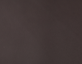 Coupon de cuir d'agneau nappa chocolat