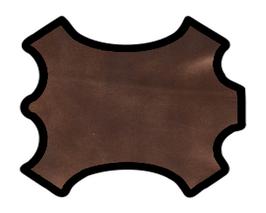 Peau de chèvre bronze