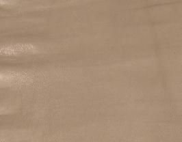 Morceau de cuir de chèvre chagrin nude
