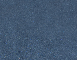 Morceau de cuir d'agneau nappa bleu marine métallisé