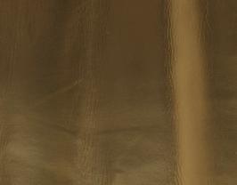 Morceau de cuir d'agneau nappa doré doublé tissu