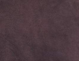 Morceau de cuir d'agneau velours chocolat