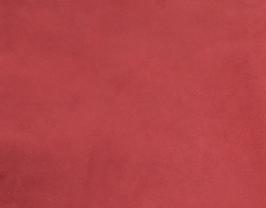 Morceau de cuir d'agneau velours rouge pourpre