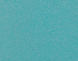 Morceau de cuir de vachette turquoise imprimé lézard