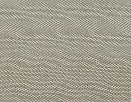 Coupon de cuir d'agneau beige grainé blanc pailleté