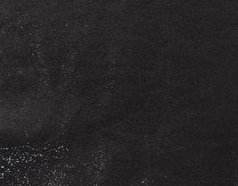 Morceau de cuir d'agneau velours noir brillant