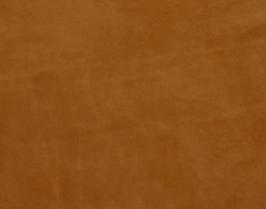 Morceau de cuir de vachette suède tabac