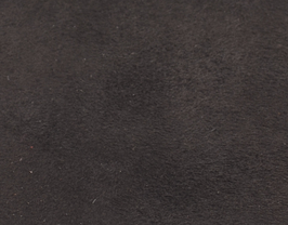 Coupon de cuir de veau velours marron foncé