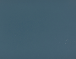Coupon de cuir de vachette bleu pétrole