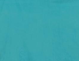 Morceau de cuir d'agneau velours turquoise