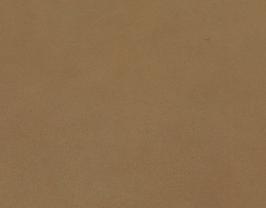 Coupon de cuir de chèvre plongé sable