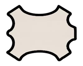 Peau de chèvre beige saumoné