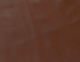 Morceau de cuir de vachette châtaigne