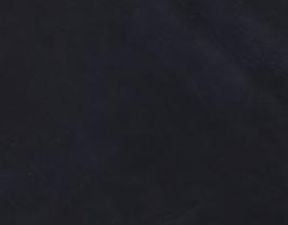 Morceau de cuir d'agneau velours bleu nuit