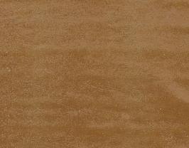Morceau de cuir de veau nubuck doré imprimé lézard