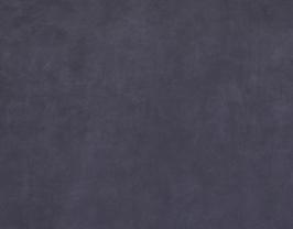 Morceau de cuir de vachette nubuck bleu nuit