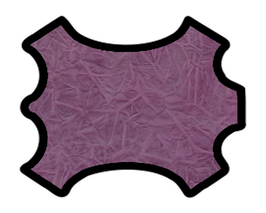 Peau de chèvre violet imprimé gaufré