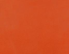 Coupon de cuir d'agneau velours mandarine