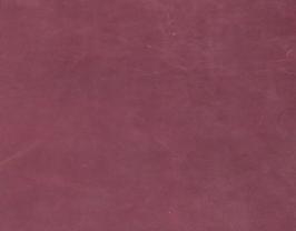 Morceau de cuir de vachette suède lie de vin