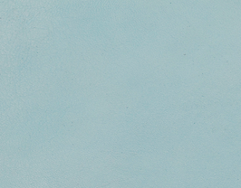 Coupon de cuir d'agneau nappa bleu azurin