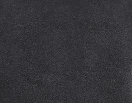 Coupon de cuir d'agneau velours noir irisé