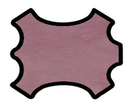 Peau de chèvre chagrin rose métallisé