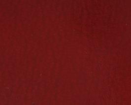 Coupon de cuir d'agneau rouge foncé vernis
