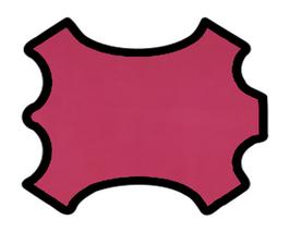 Peau de chèvre rose