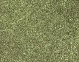 Coupon de cuir d'agneau velours vieilli vert clair métallisé
