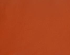 Morceau de cuir de vachette grainé orange foncé
