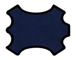 Peau de mouton bleu marine