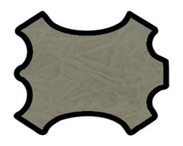 Peau d'agneau gaufré beige foncé