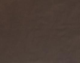 Morceau de cuir de vachette chocolat