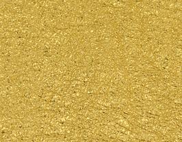 Coupon de cuir de chèvre grainé doré