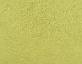 Coupon de cuir d'agneau velours vert pistache clair