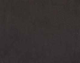 Morceau de cuir d'agneau velours noir mat