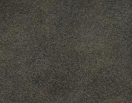 Coupon de cuir d'agneau velours vieilli noir