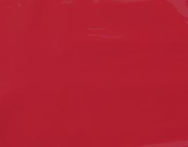 Morceau de cuir d'agneau rose foncé vernis