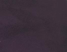 Coupon de cuir d'agneau velours violet foncé