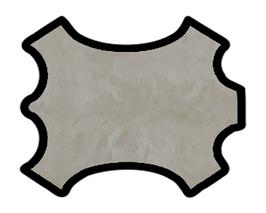 Peau d'agneau lainé astrakan écru