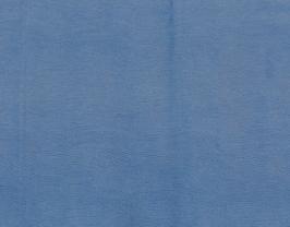 Morceau de cuir de vachette bleu ciel imprimé lézard