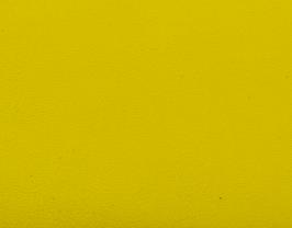 Coupon de cuir d'agneau nappa jaune citron
