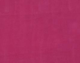 Morceau de cuir de vachette velours rose
